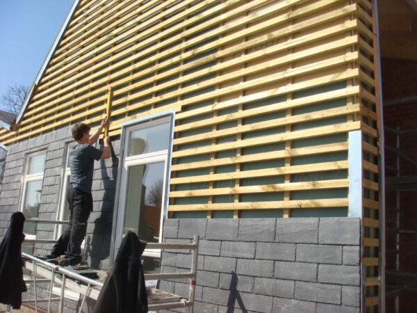 Spansk facadeskifer 40x20 bygning