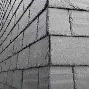 Spansk facadeskifer 40x20 opsat